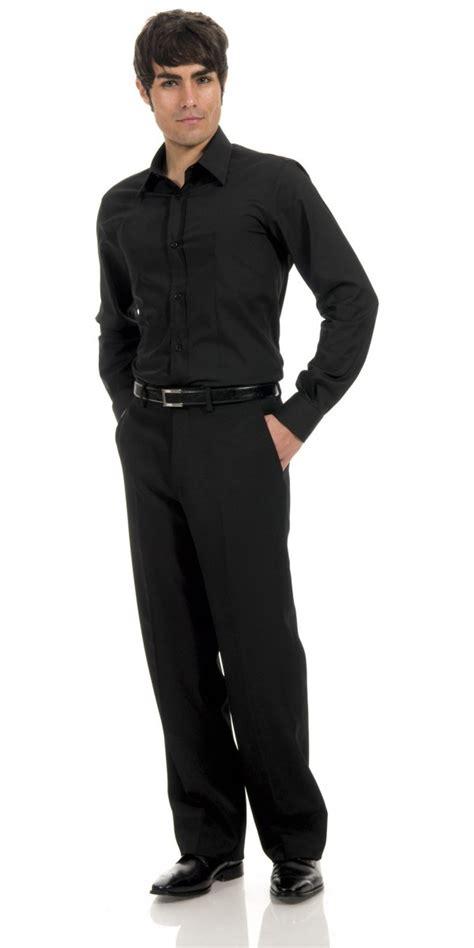 camicie da cucina abbigliamento professionale camicia uomo nera