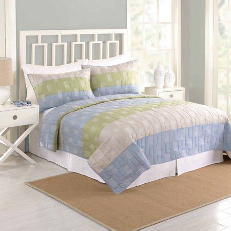 better homes and gardens quilts better homes and gardens oliver bedding quilt walmart