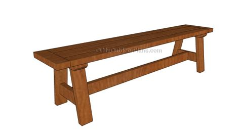 wood bench seat plans myoutdoorplans  woodworking