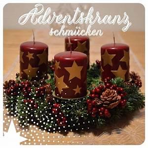 Adventskranz 2017 Farben : adventskranz dekorieren ernstlichdeins ~ Whattoseeinmadrid.com Haus und Dekorationen