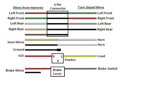 Wiring Diagram Universal Turn Signal Switch Decor