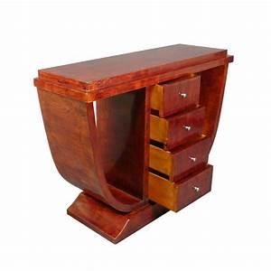 Meuble Art Deco Occasion : console art d co nice en bois d 39 rable mobilier art d co ~ Teatrodelosmanantiales.com Idées de Décoration