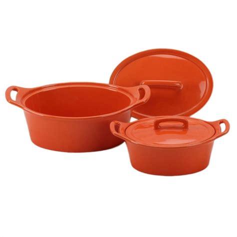 oval casserole dish lid orange lids omniware