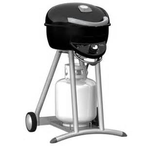 char broil patio bistro tru infrared propane gas grill in black 12601558 the home depot