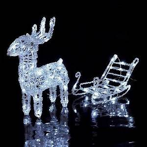 Rentier Mit Schlitten Beleuchtet : elch led beleuchtet weihnachten weihnachtsbeleuchtung schneemann ip44 eur 39 95 picclick de ~ Eleganceandgraceweddings.com Haus und Dekorationen