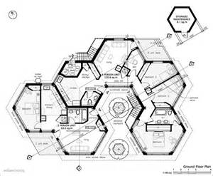 harmonious up house blueprints hexagon homes are more logical save space when