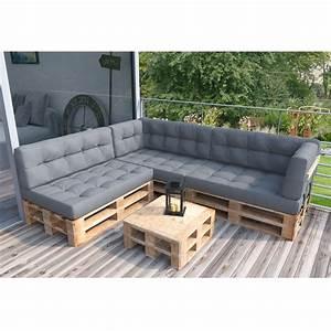 Paletten Couch Kissen : palettenkissen palettenm bel ecksofa couch sitzecke real ~ Orissabook.com Haus und Dekorationen