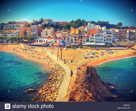 Blanes Spain Brava Stock Photos And Blanes Spain Brava Stock