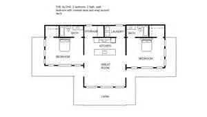 split floor plans the aloha 2 2 split bedroom floor plan