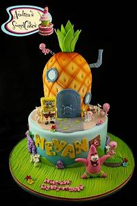 SpongeBob Cakes & Cupcakes: Design Ideas on Craftsy!
