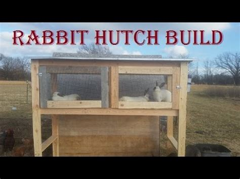 how to build a rabbit hutch with pictures building a rabbit hutch