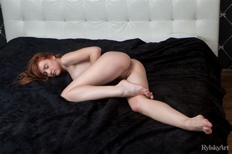 Orabelle Koivu In Oranssi By Rylsky Art Nude Photos