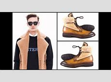 Shoes and shearling shearling as new fashion trend Fall