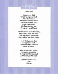 Fathers day poems for teens