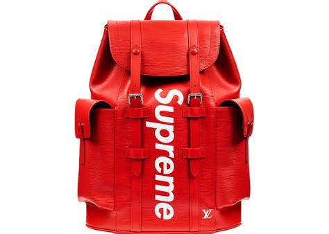 louis vuitton x supreme christopher backpack epi pm