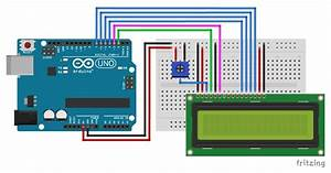 Character Lcd Display With Arduino Tutorial  8 Examples