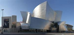 Los Angeles Music Center In Downtown Los Angeles