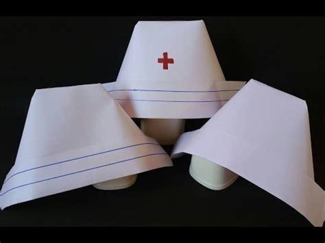 nurses cap   easy steps youtube