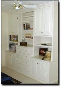 Bedroom with Built in Cabinets