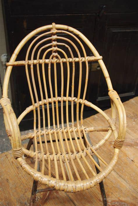 fauteuil en osier des ann 233 es 50 par le marchand d oublis