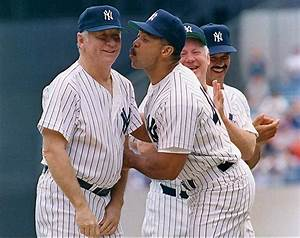 Reggie Jackson and Mickey Mantle and his buddy Whitey Ford ...