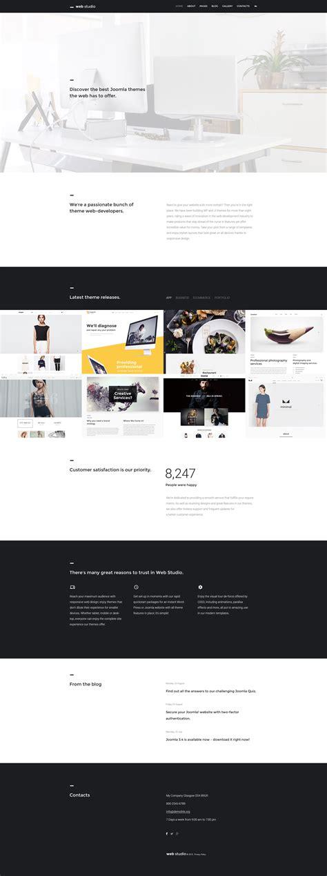 blackand white template joomla mediafire web design joomla theme