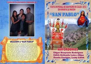 1 Patronal La Poste : fiesta patronal 2012 en honor a la imagen san pablo ~ Premium-room.com Idées de Décoration