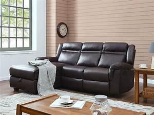 Canape Angle Marron : canap d 39 angle relax chelsea 3 places marron 93373 ~ Teatrodelosmanantiales.com Idées de Décoration