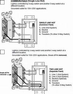 Leviton Decora Combination Switch Wiring Diagram