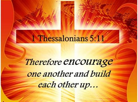 thessalonians   encourage
