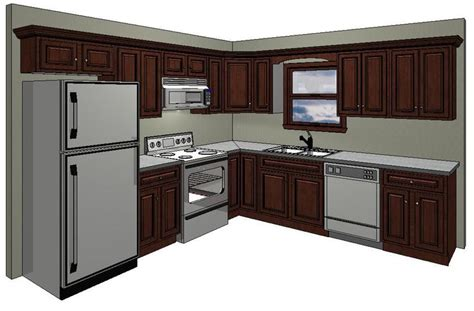 kitchen design standards 10x10 kitchen layout in the standard 10 x 10 kitchen 5607