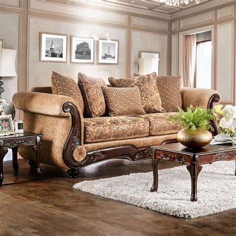 Nicanor Transitional Style Sofa