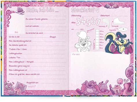das freundebuch f 252 r den kindergarten mit ausmalbildern