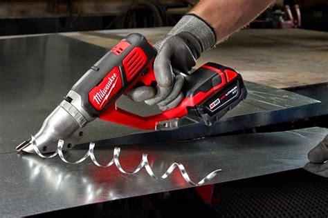 milwaukee  metal shears tools   trade cordless