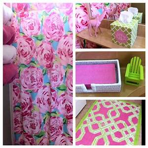 Pin by katherine a on my bathroom ideas pinterest for Lilly pulitzer bathroom