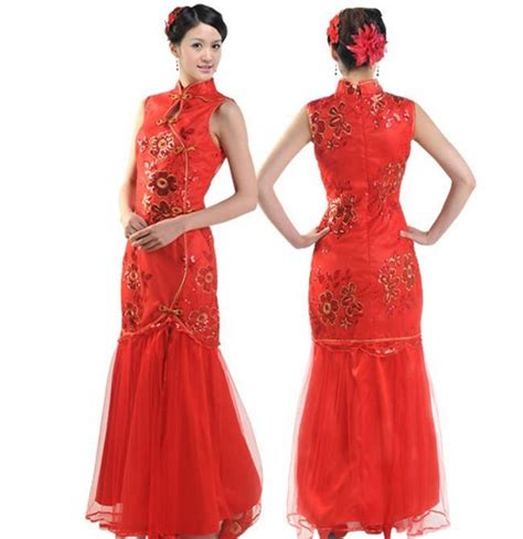 model  gambar cheongsam dress modern