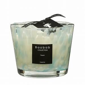 Bougie Baobab Soldes : bougie sapphire pearls de baobab collection 2 tailles ~ Teatrodelosmanantiales.com Idées de Décoration