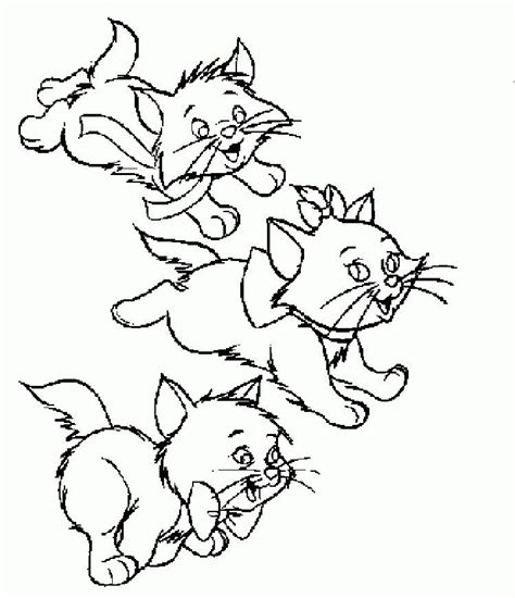 Cute Kitten Coloring Pages To Print Download or print the
