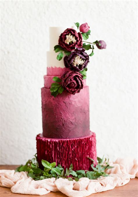 Wedding Trend 20 Fabulous Wedding Cakes With Floral For