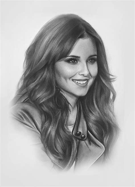 women realistic drawings