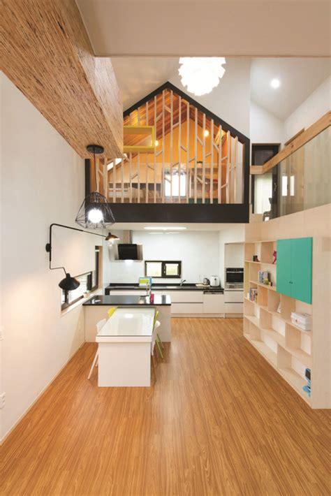 modern  shaped house  south korea idesignarch