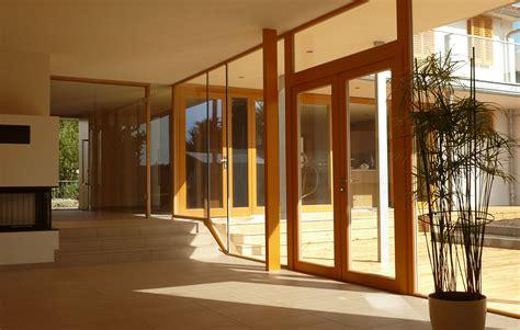Doppelschiebetür Holz Und Glas by Holz Glas Allround Gmbh