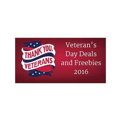 Veteran's Day Deals and Freebies 2016