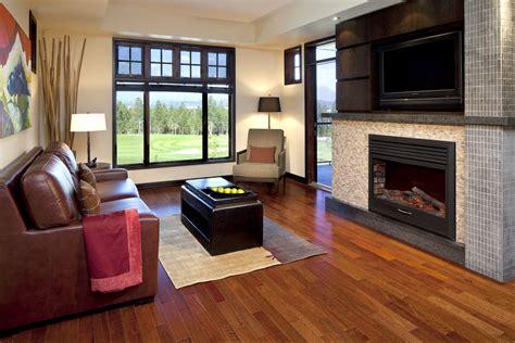 trendy living room copper point resort invermere b c