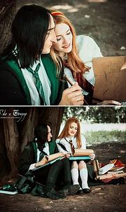 Lily Evans and Severus Snape by Lilta-photo.deviantart.com ...
