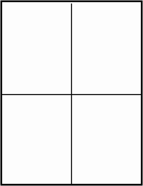 free note card template 12 blank half fold card template tutaa templatesz234