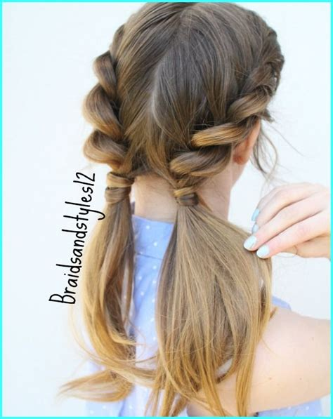 best 25 pigtail hairstyles ideas on pinterest hair