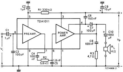 Schematic Diagram Of 500 Watts Power Amplifier