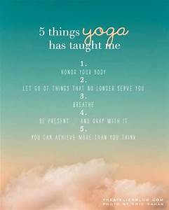 (Images) 40 Yoga Picture Quotes That Will Inspire Your ...