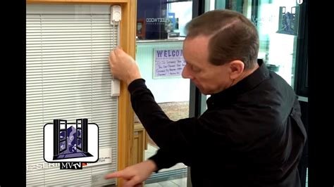 mvtv andersen architectural collection  series system  blinds youtube